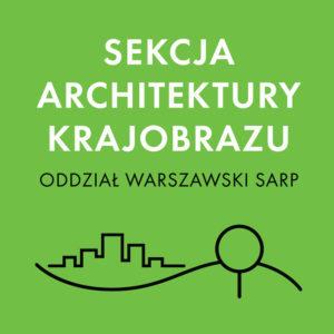 Logo Sekcja Architektury Krajobrazu Sarp Warszawa