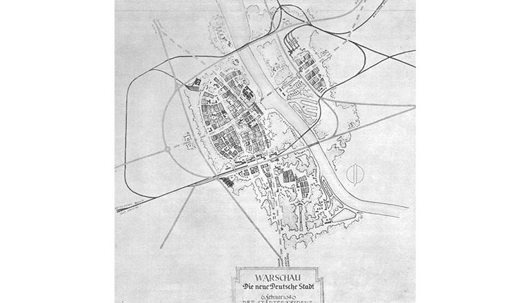 Warszawa. Plan Pabsta.