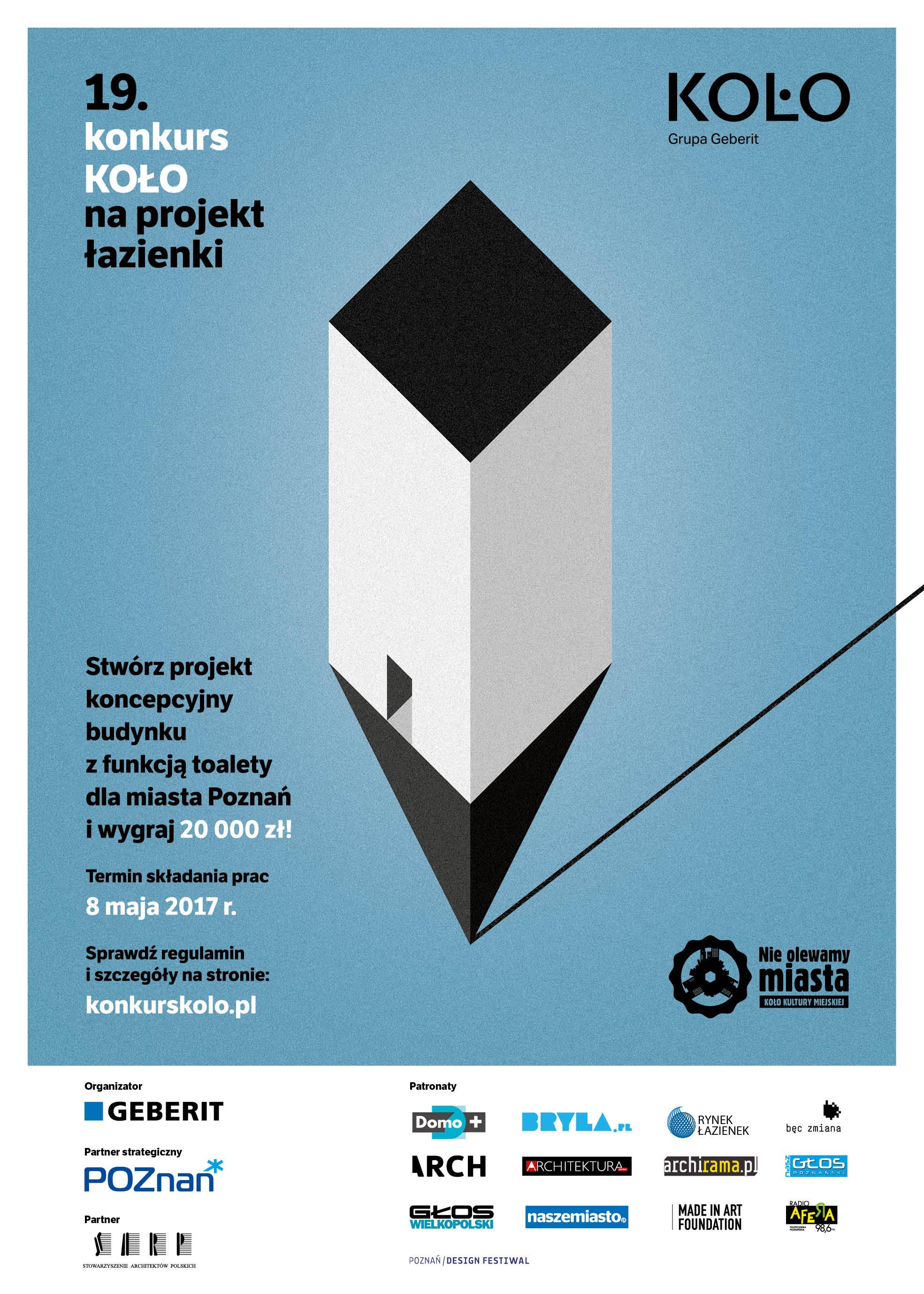 19 Edycja Konkursu Koło Na Projekt łazienki Sarp Warszawa